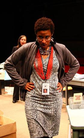 Brown/Trinity Alumn Liz Morgan in Principal Principle